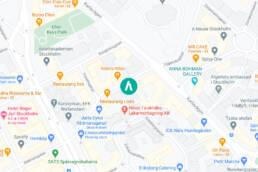 Karta AFU huvudkontor